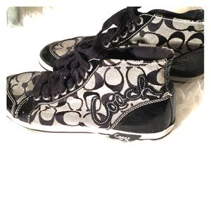 Coach Brendi high top sneakers 6 1/2 B